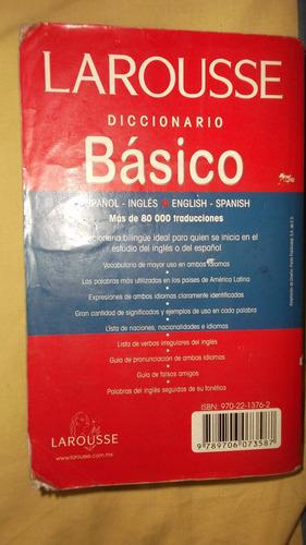 diccionario inglés - español / larousse