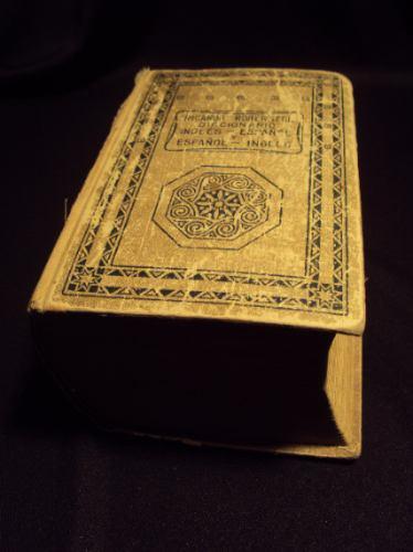 diccionario ingles español y español ingles 1941 sopena