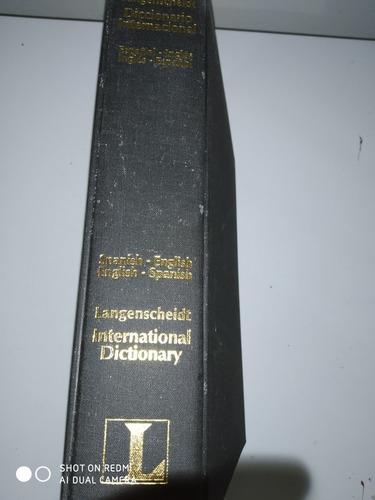 diccionario internacional langenscheidt, inglés español
