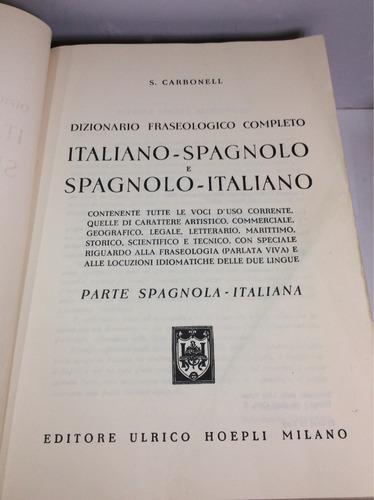 diccionario italiano-español/español-italiano (dos tomos)