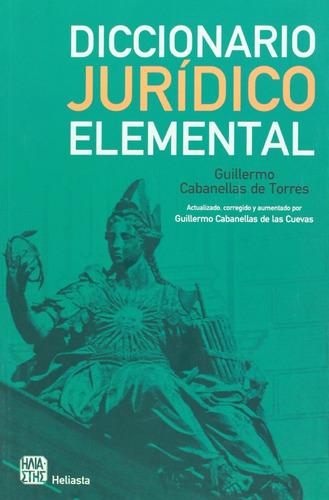 diccionario jurídico elemental (spanish edition)