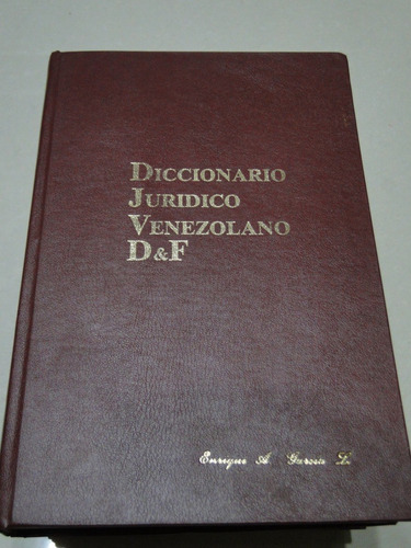 diccionario jurídico empastado. 4 tomos