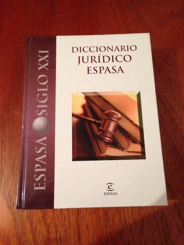 diccionario juridico espasa.