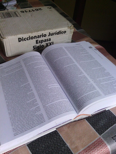 diccionario jurídico espasa , en perfectas condiciones.