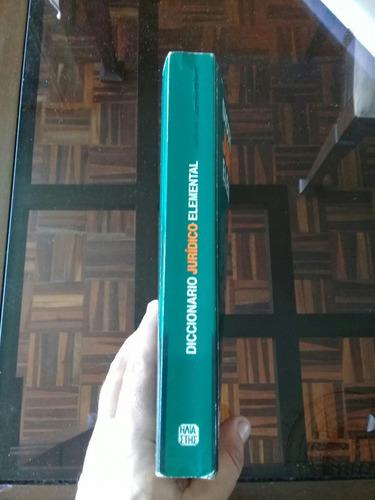 diccionario jurídico guillermo cabanellas - excelente estado