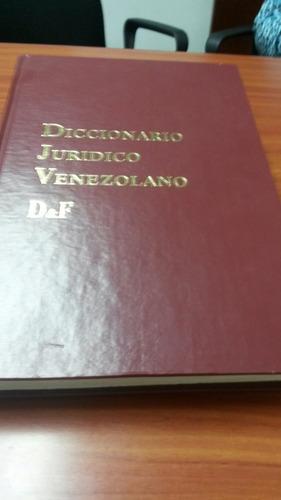 diccionario juridico venezolano.mas formulario mercantil