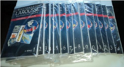 diccionario larousse bilingue ilustrado 14 tomos nuevos