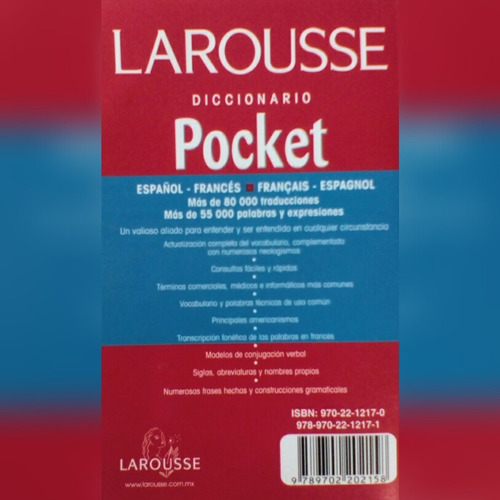 diccionario larousse frances español pocket