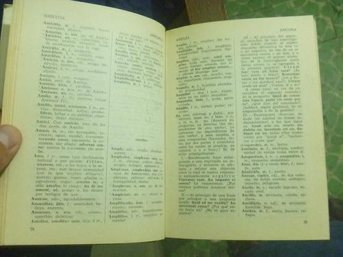 diccionario latino - español. español - latino. everest.