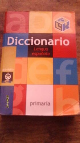 diccionario lengua española , primaria