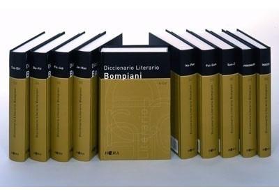 diccionario literario bompiani - 10 tomos