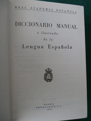 diccionario manual de la lengua española. real academia