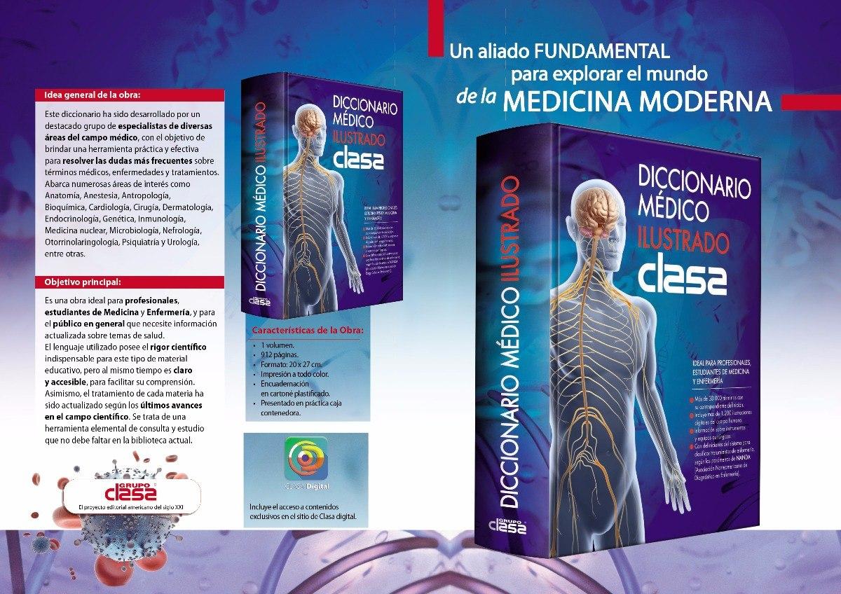 Diccionario Medico Ilustrado - Novedad 2017 Editorial Clasa ...