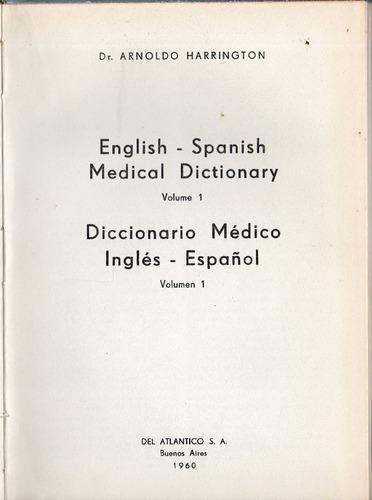 diccionario medico ingles castellano - english spanish