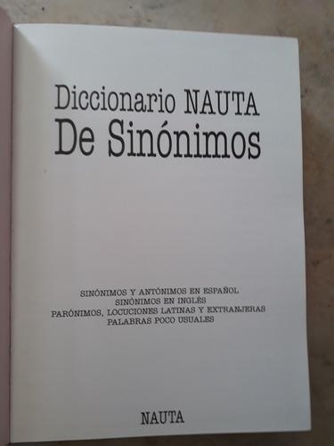 diccionario nauta de sinonimos y antonimos