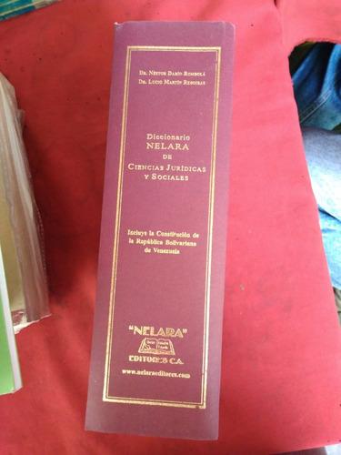 diccionario nelara de ciencias jurídicas y sociales