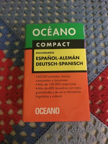 diccionario océano compact español-alemán