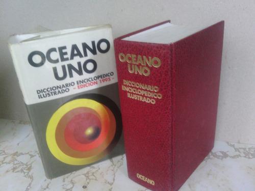 diccionario océano uno enciclopedico ilustrado (usado)