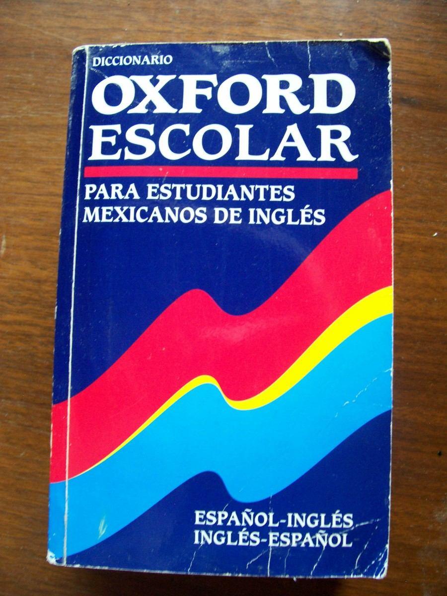 Diccionario Oxford Escolar Español Inglés-ed-univ.oxford