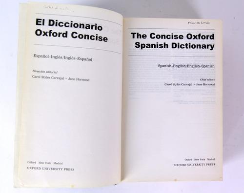 diccionario oxford español - ingles