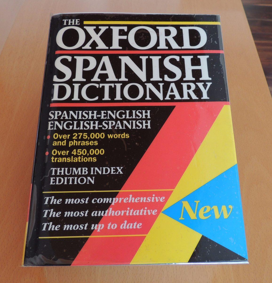diccionario oxford ingles-español / español-ingles-. Cargando zoom.