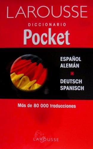 diccionario pocket/ español aleman-deutsch españo / larousse