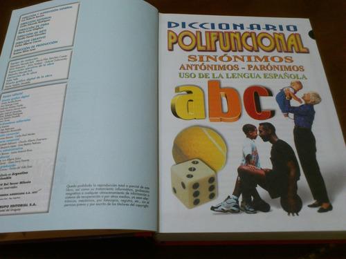diccionario polifuncional sinónimos,antónimos,parónimos