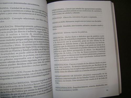 diccionario político venezolano.  miguel angel paz