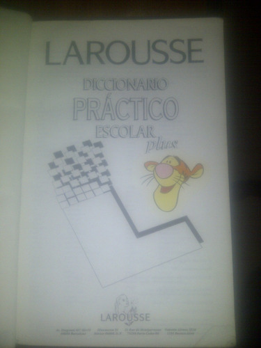 diccionario práctico escolar plus larousse