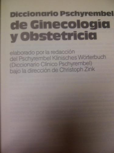 diccionario pschyrembel ginecología obstetricia por walter