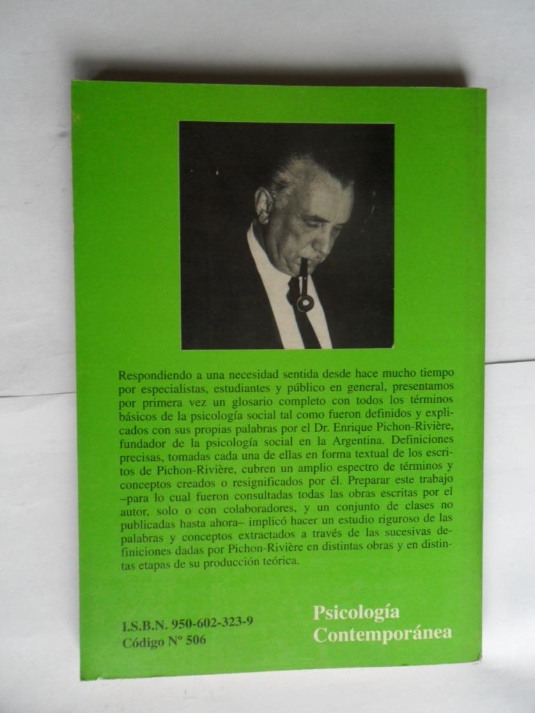 Diccionario Psicologia Social Pichon Riviere Pdf