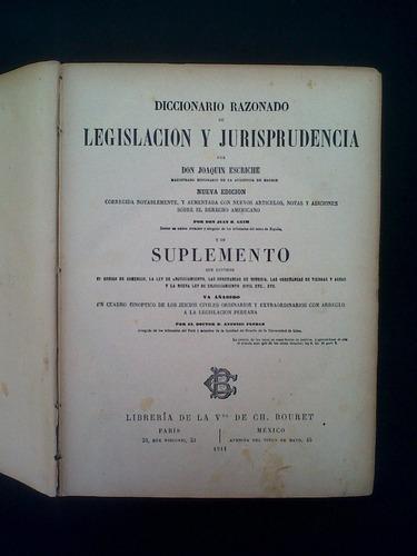 diccionario razonado de legislacion y jurisprudencia