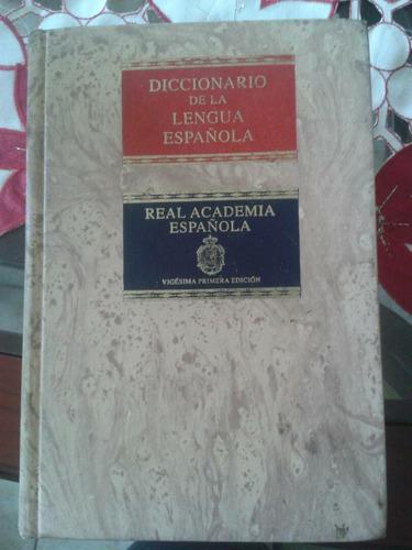 diccionario real academia española 2 tomos