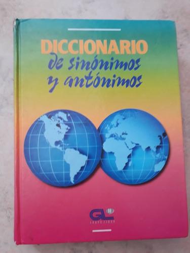 diccionario se sinonimos y antonimos