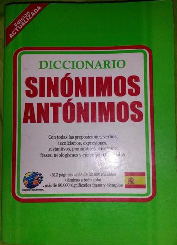 diccionario sinónimos antonimos