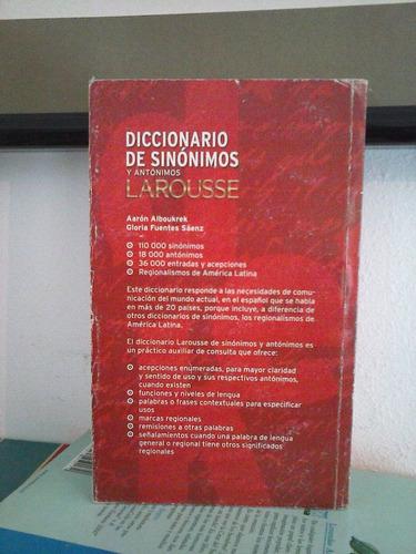 diccionario sinonimos antonimos