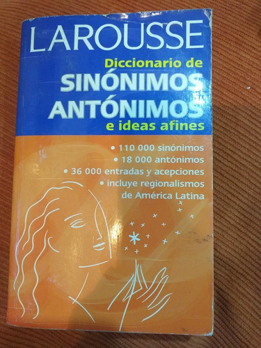 diccionario sinónimos antónimos larrousse