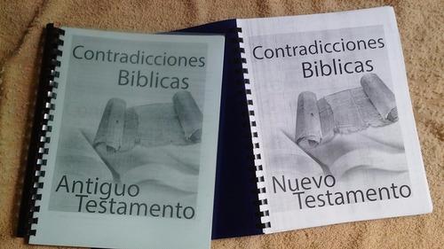 diccionario teologico contradicciones biblicas