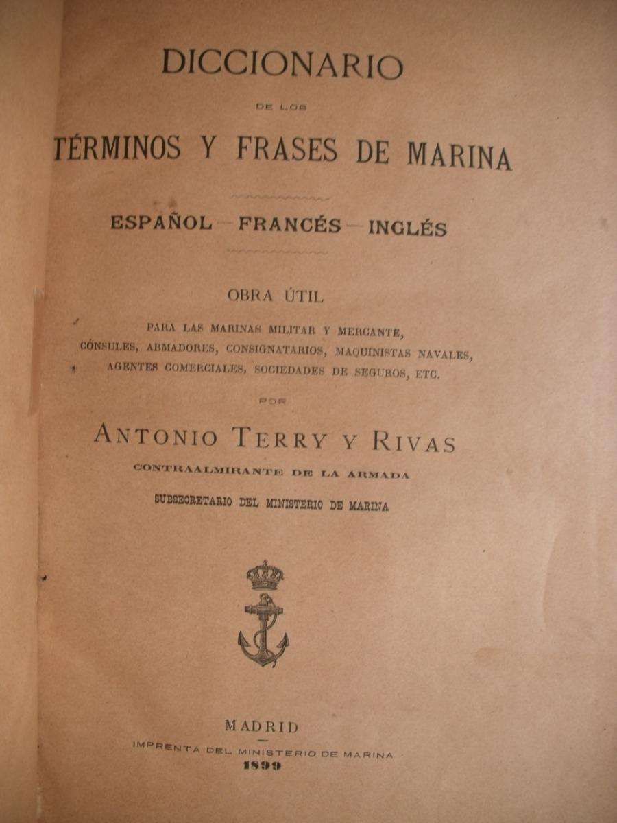 Diccionario Terminos Y Frases De Marina Terry Y Rivas 780000