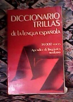 diccionario trillas de la lengua española
