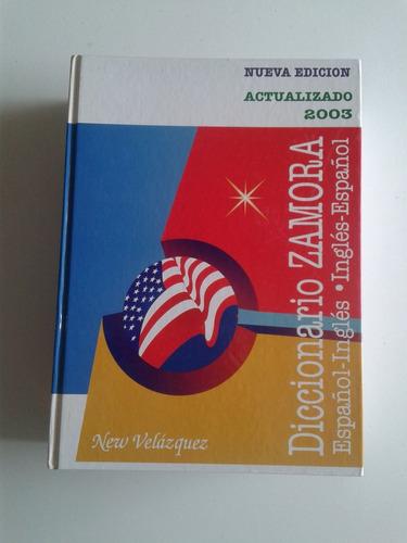 diccionario zamora new velazquez. ingles-español.
