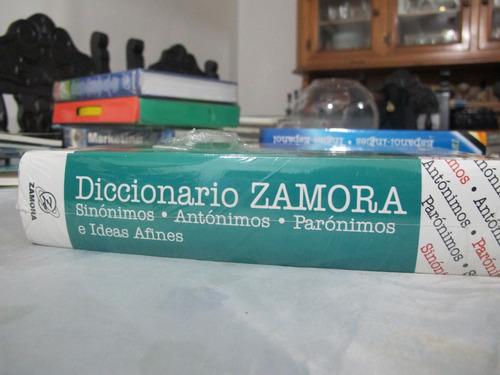 diccionario zamora sinónimos y antónimos nuevo