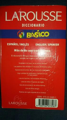 diccionarios básicos ingles - español