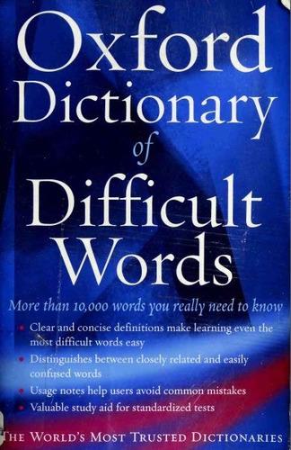 diccionarios de inglés || diccionario de dificultades inglés
