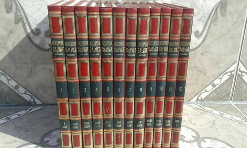 diccionarios enciclopédicos salvat 12 tomos