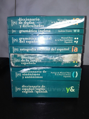 diccionarios espasa