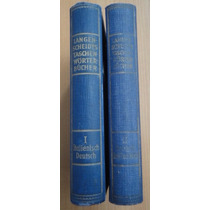 Diccionario Italiano-tedesco,deutsch-italienisch Ted 2 Tomos