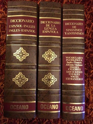 diccionarios oceano.  español, ingles, plurilingue 8