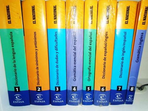 diccionarios reglas/ayudas gramaticales el nacional espasa