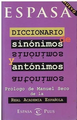 diccionarios sinonimos y antonimos